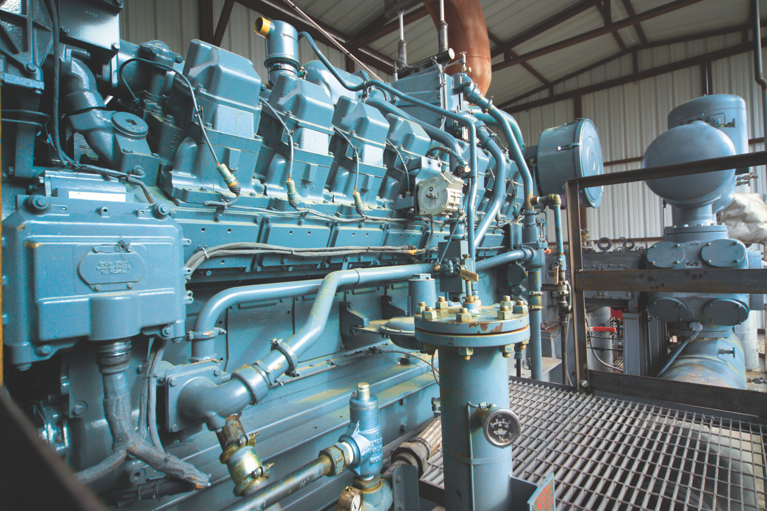 Engines used in waste to energy applications must be protected with lubricants
