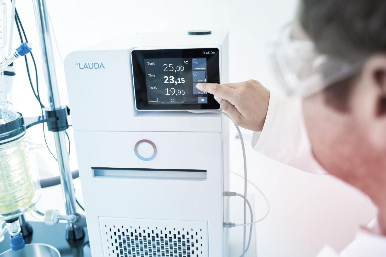 LAUDA provides temperature control solutions for industries from chemistry to automotive.