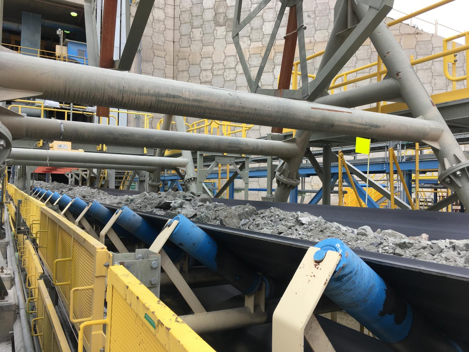 PHOENOCORD Steel Cord Conveyor Belt in Peru
