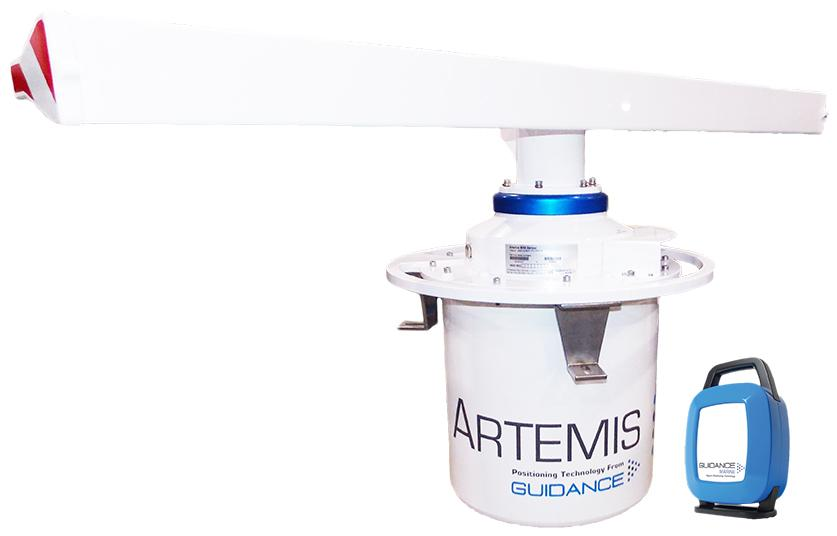 Artemis and Validator: A microwave position reference sensor for use in long-range marine DP applications.