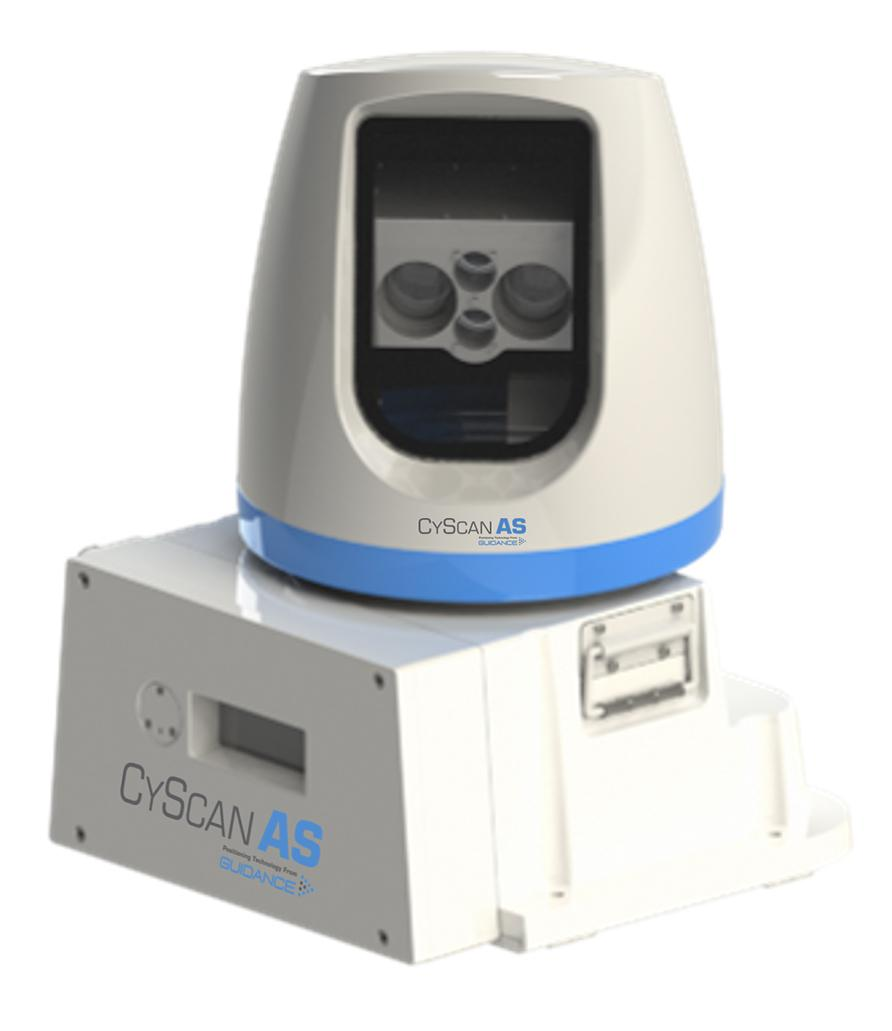 CyScan AS: A high-performance local position reference sensor specifically engineered for marine DP applications.