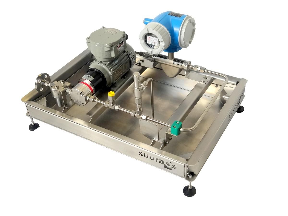 Basic and smart suurDOS® unit for precise dosing fluids. suurDOS® units are designed according customer requirement; from basic up to highly sophisicated.