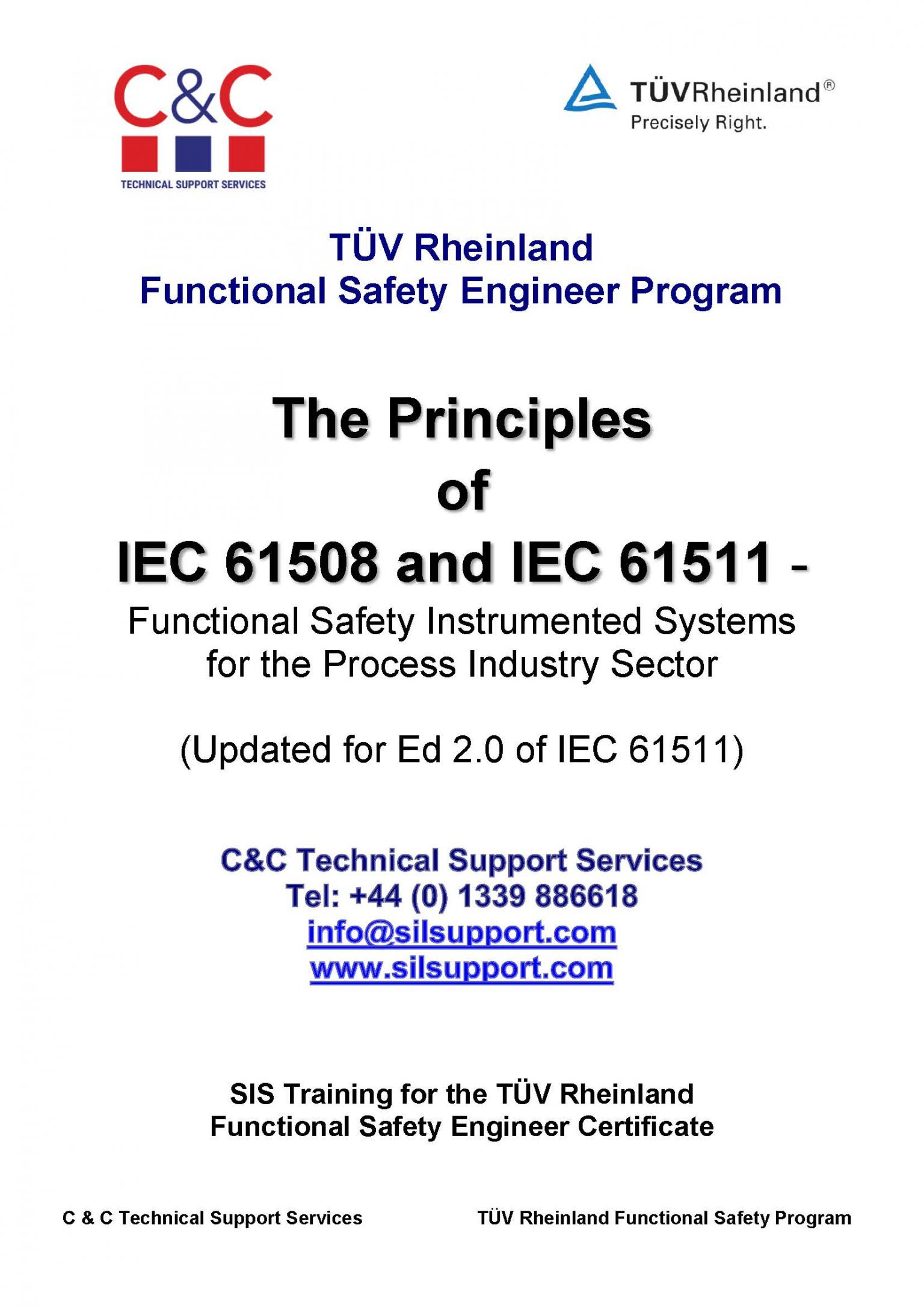 Functional Safety Engineer SIS Training