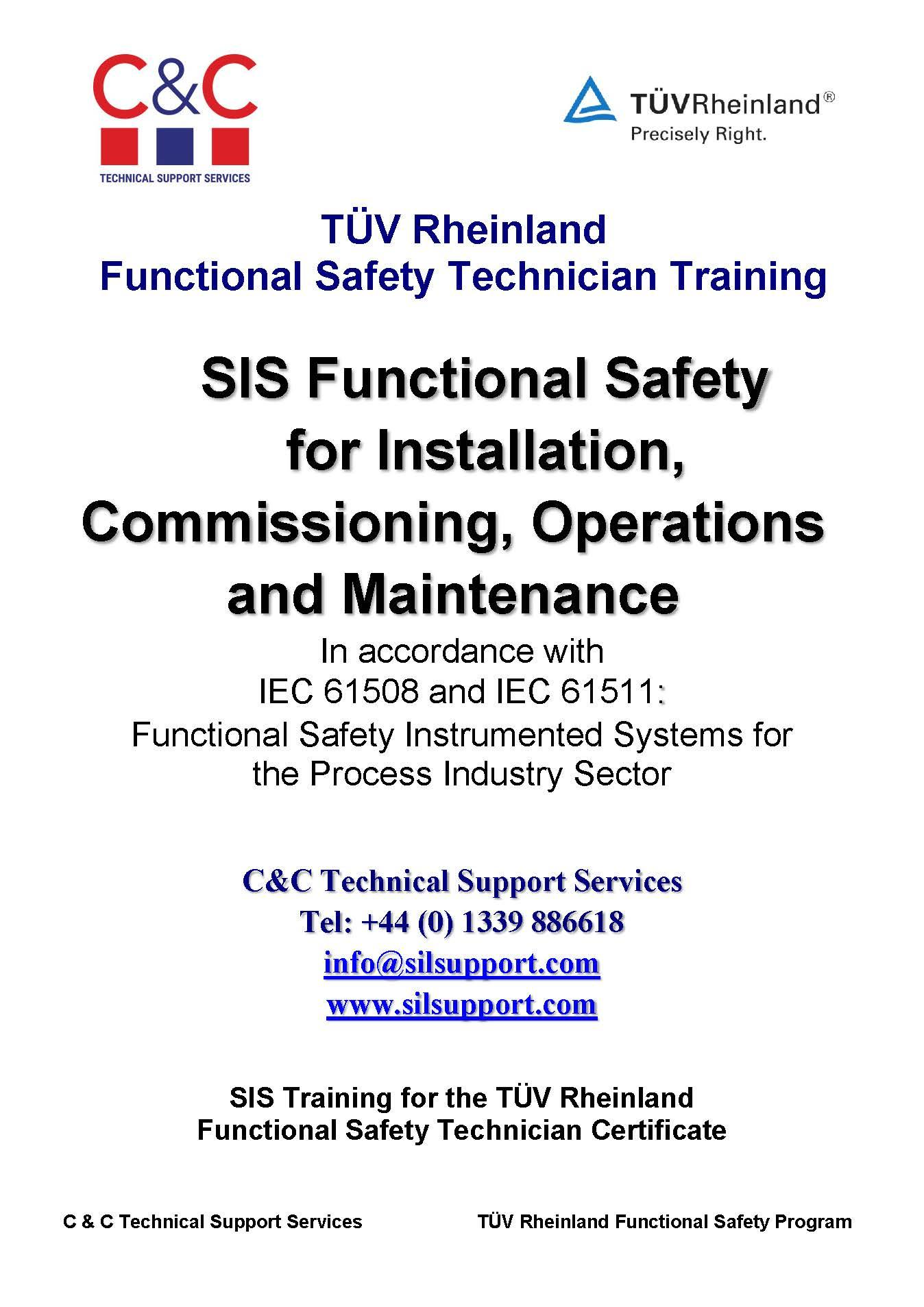 Functional Safety Technician Training