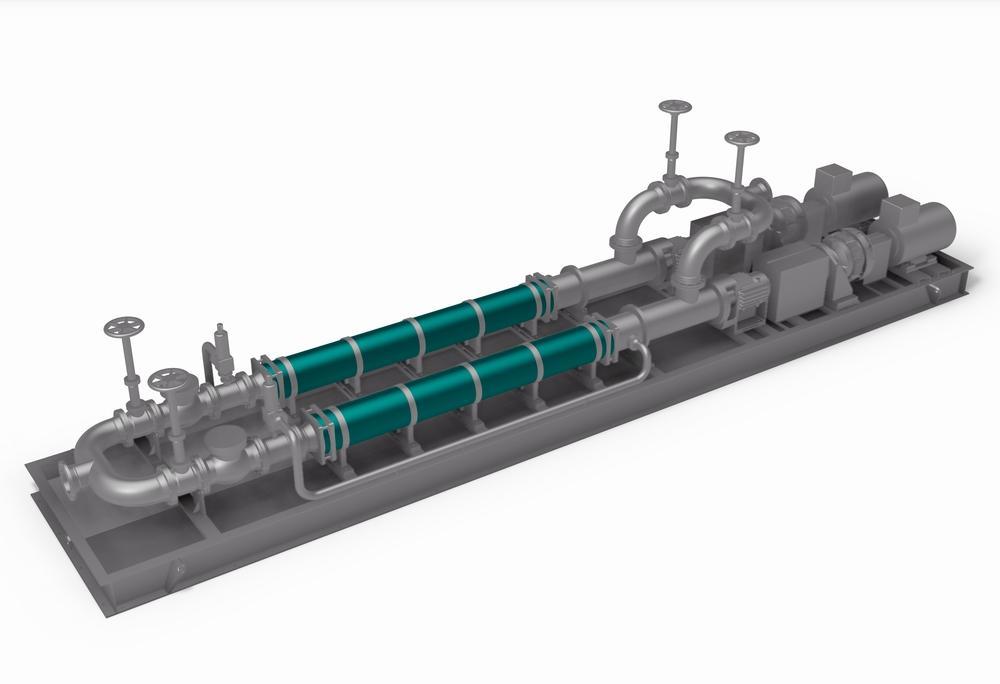 NETZSCH L.Cap® high performance pumps for up to 1,000 m³/h.