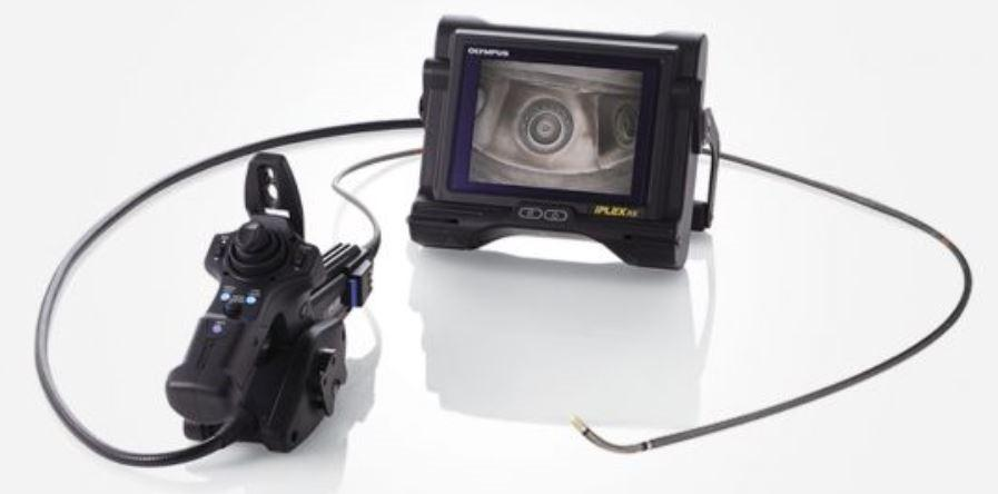 Figure 3. IPLEX videoscopes offer sharp and clear images for accurate and reliable inspections.