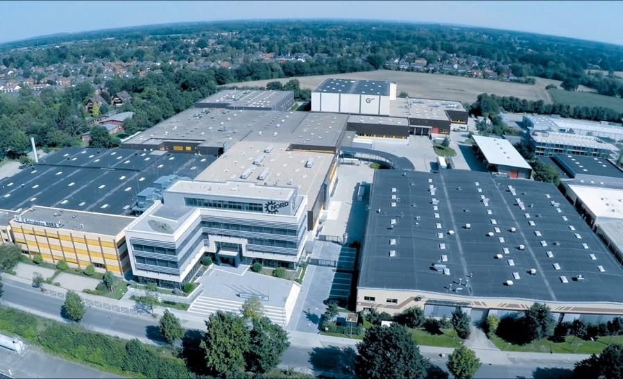 The NORD DRIVESYSTEMS headquarters is in Bargteheide near Hamburg (Germany)