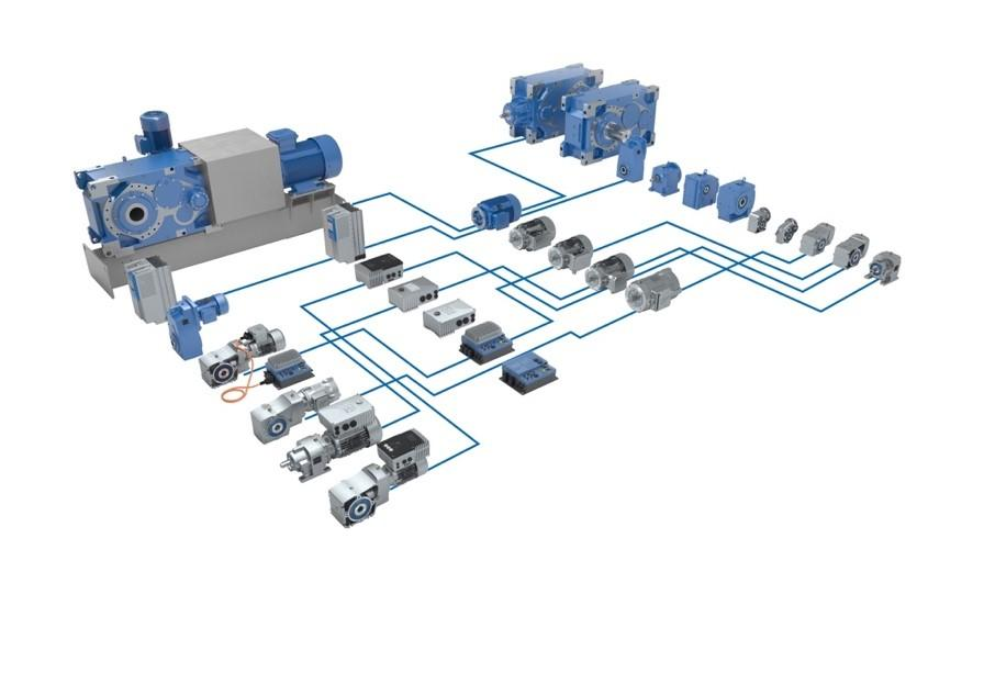 NORD DRIVESYSTEMS supplies optimally matched drive system consisting of the motor, gear unit, and drive electronics