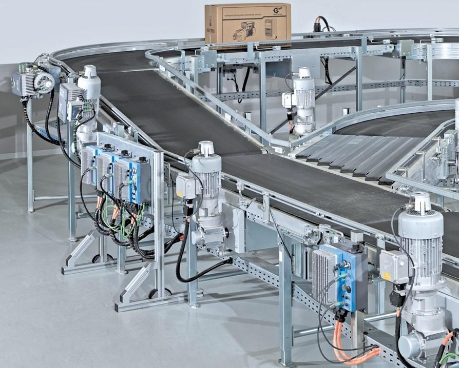 Decentralised drive units from NORD DRIVESYSTEMS can be flexibly integrated into the plant