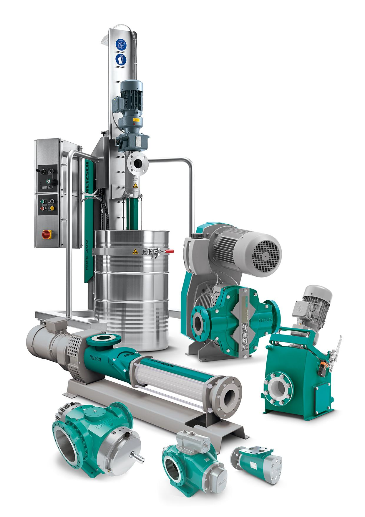 NETZSCH products for difficult applications in all industries