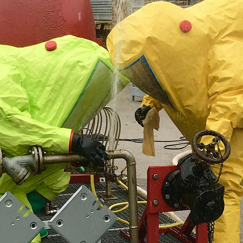 Gas-Tight Suits