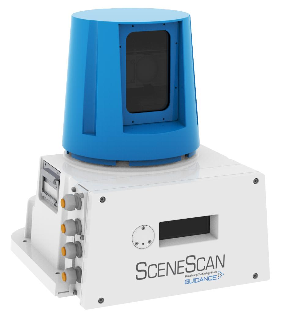 SceneScan: A high accuracy rotating targetless laser sensor to provide positional information.