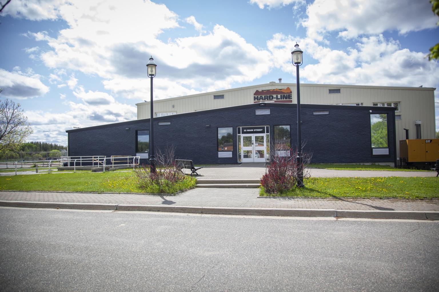 Summer Hard-Line Headquarters: HARD-LINE headquarters in Sudbury, Ontario, Canada.