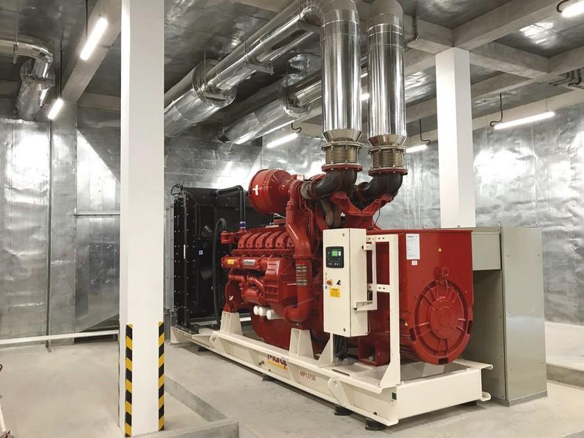 Industrial alternators for construction, industrial & commercial standby power
