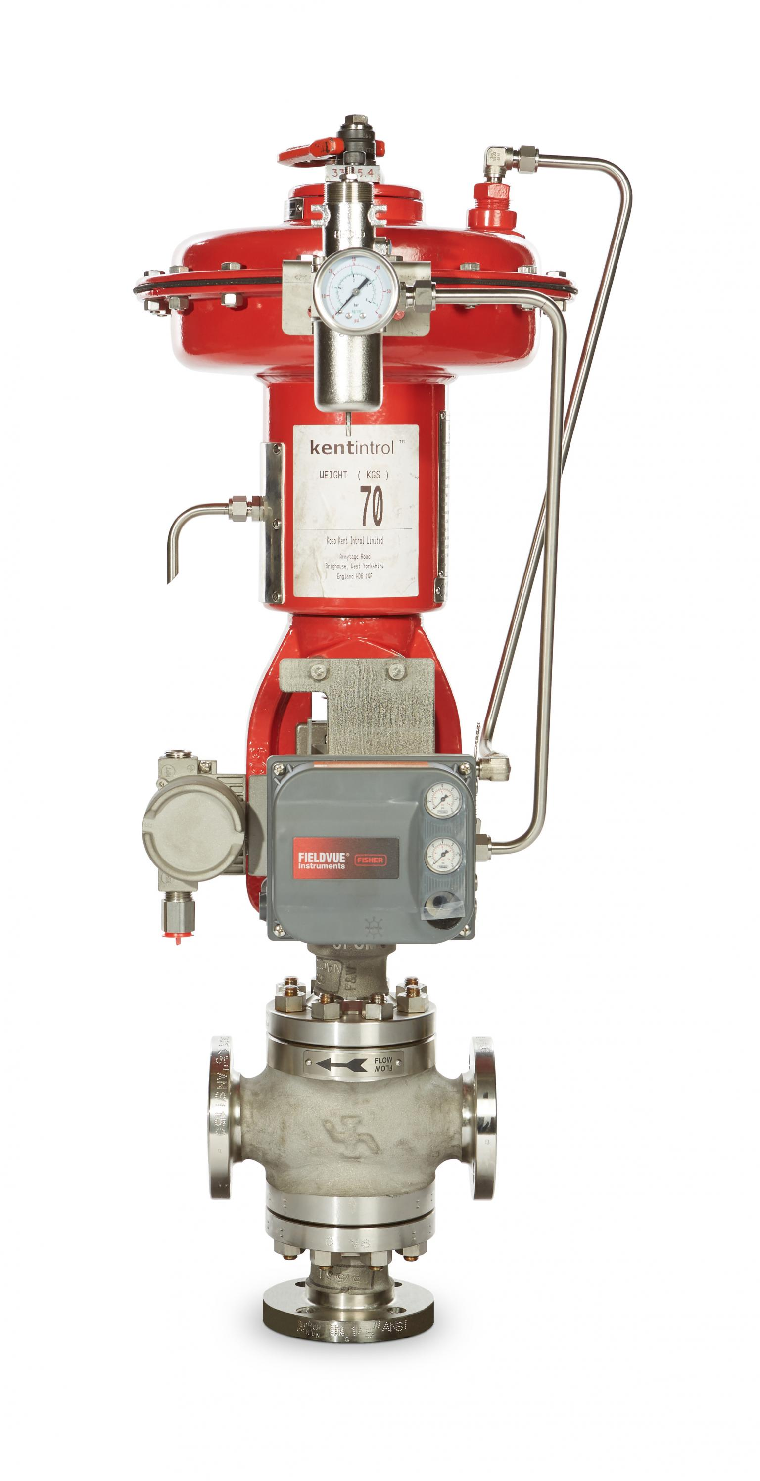 3-Way Control Valve for Possibly Use on Offshore Wind for AC-DC Transformer Cooling