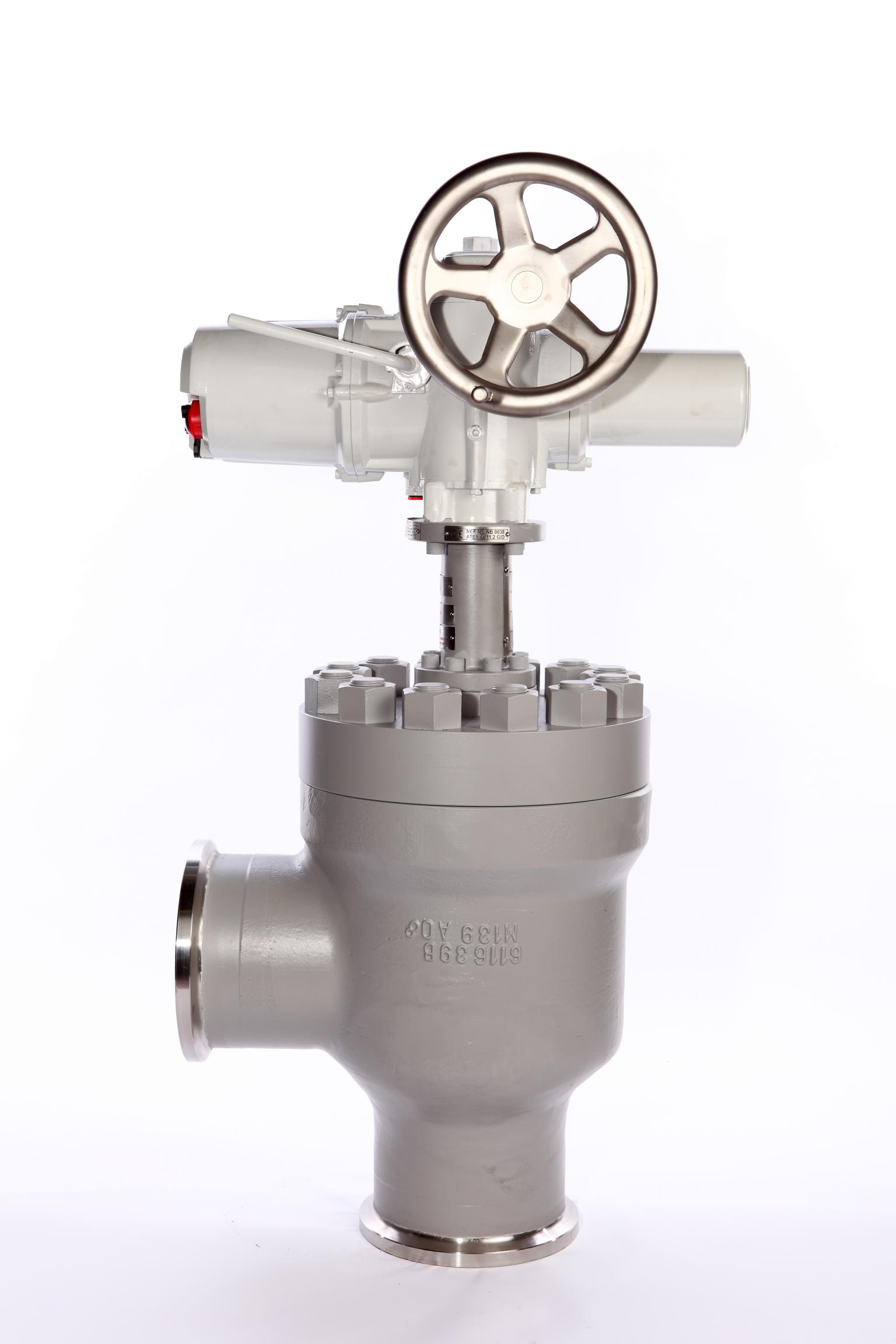 Choke Valve with Electric Actuator