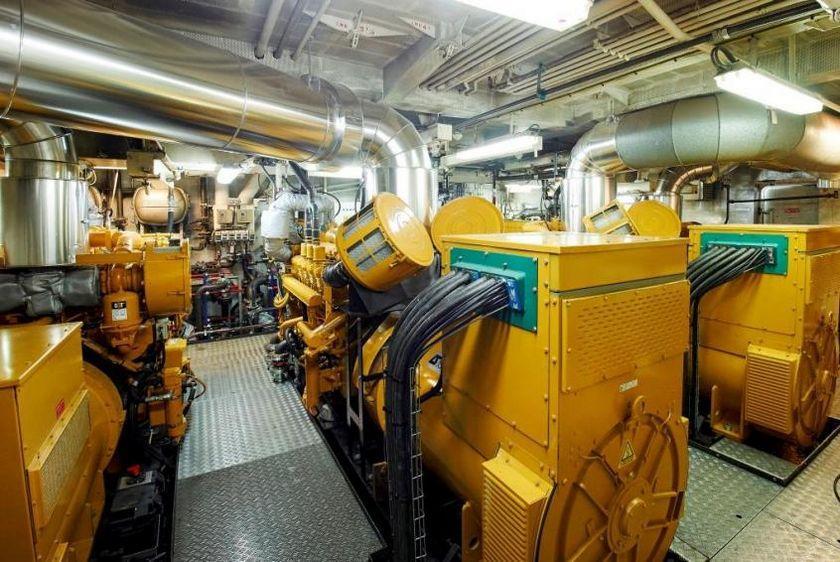 Marine-grade generators for on-board power & propulsion