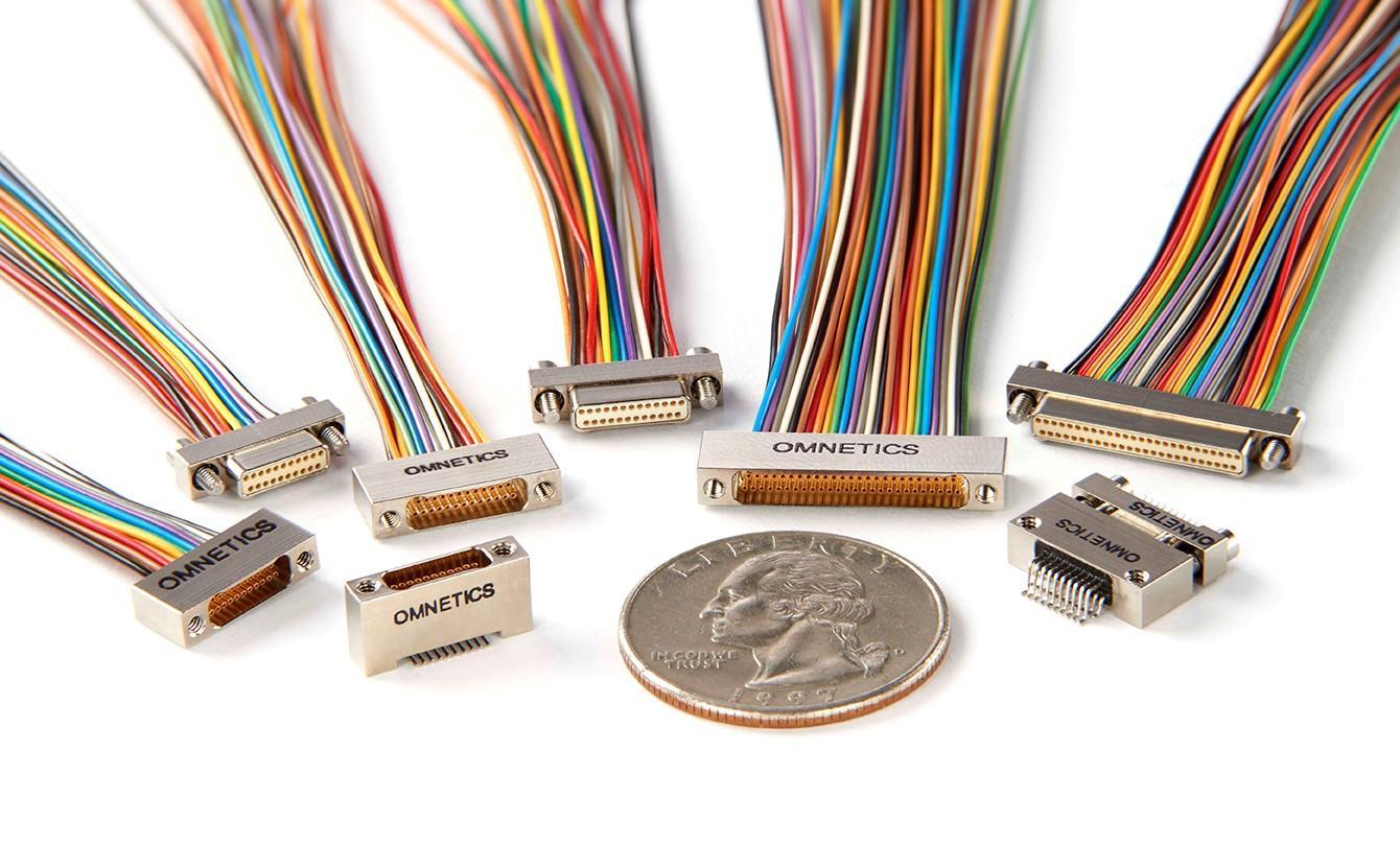 Nano-D Connectors from Omnetics