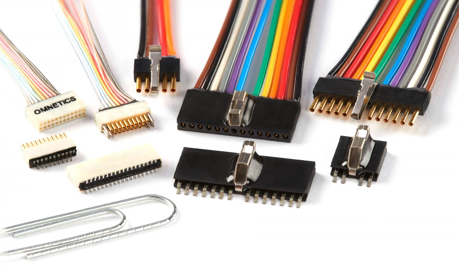 Micro and Nano Strip Connectors from Omnetics