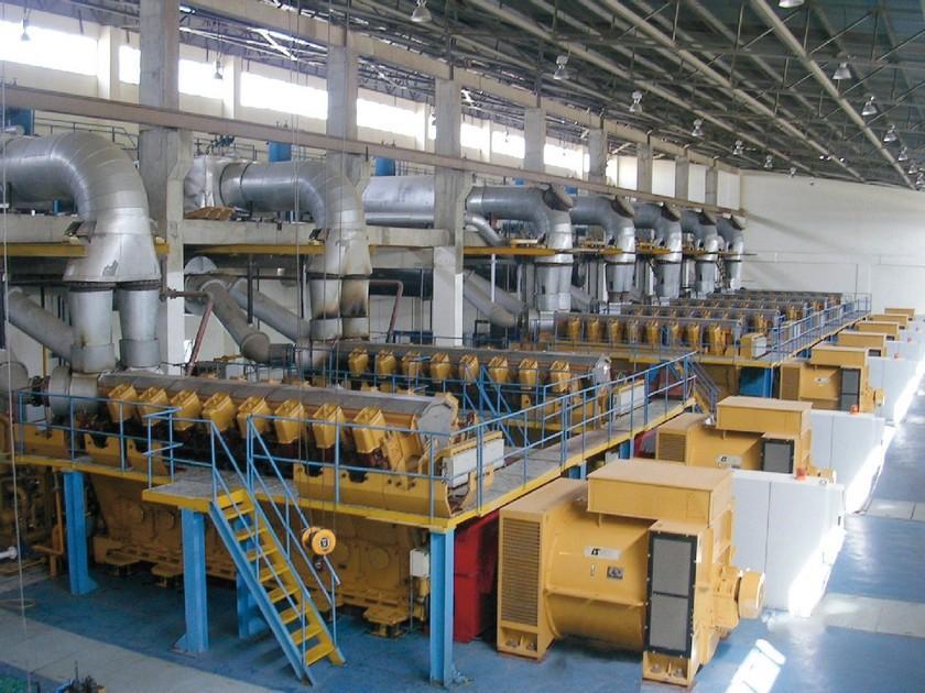 Alternators for large gas & diesel engines in prime power plants & utility
