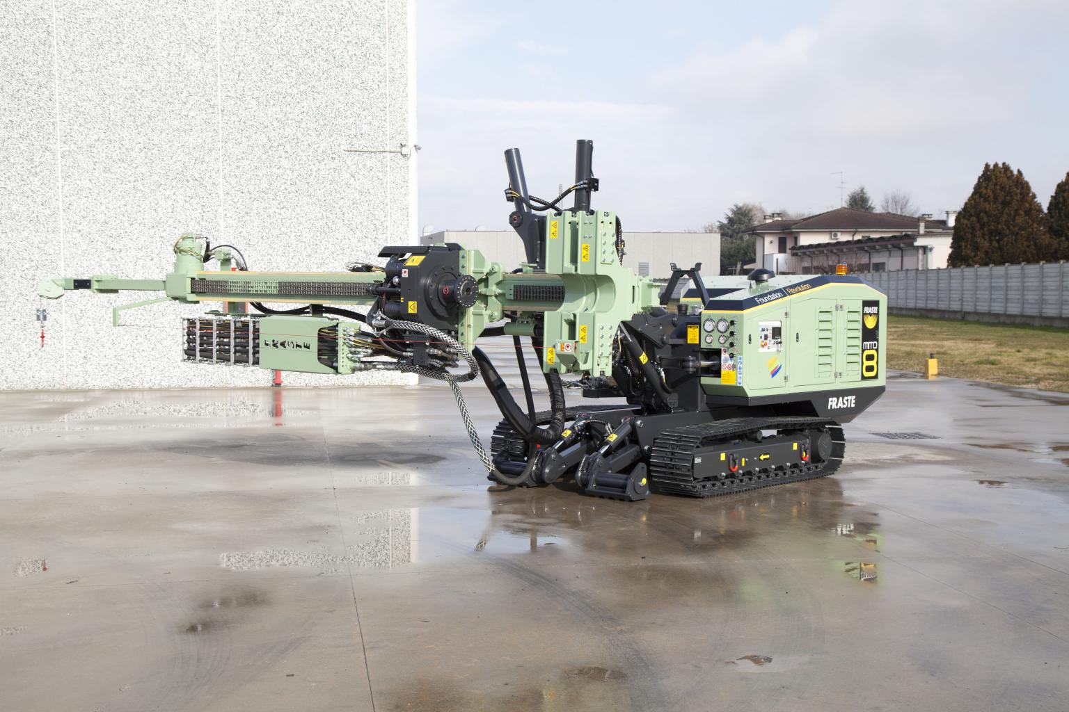 Fraste is launching a new hydraulic rig called the MITO 8