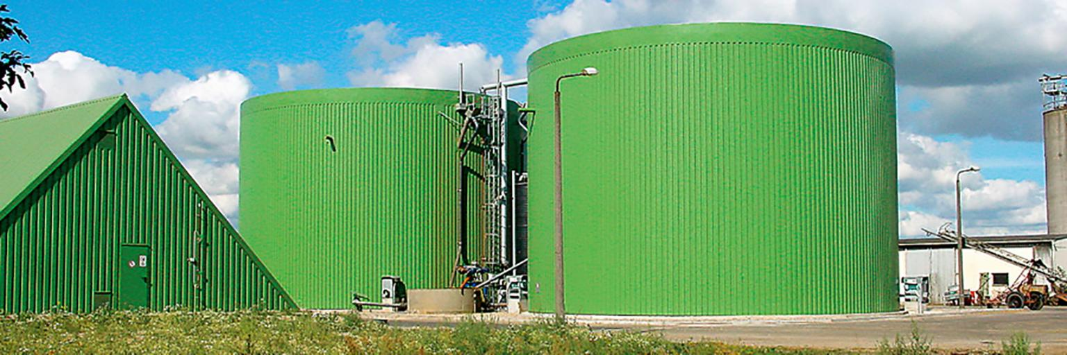 Lipp Universal Digesters on an industrial site