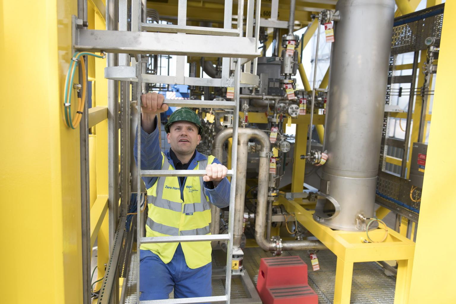 Tyco QHSE practices helped project achieve two million man-hours without a time loss incidence