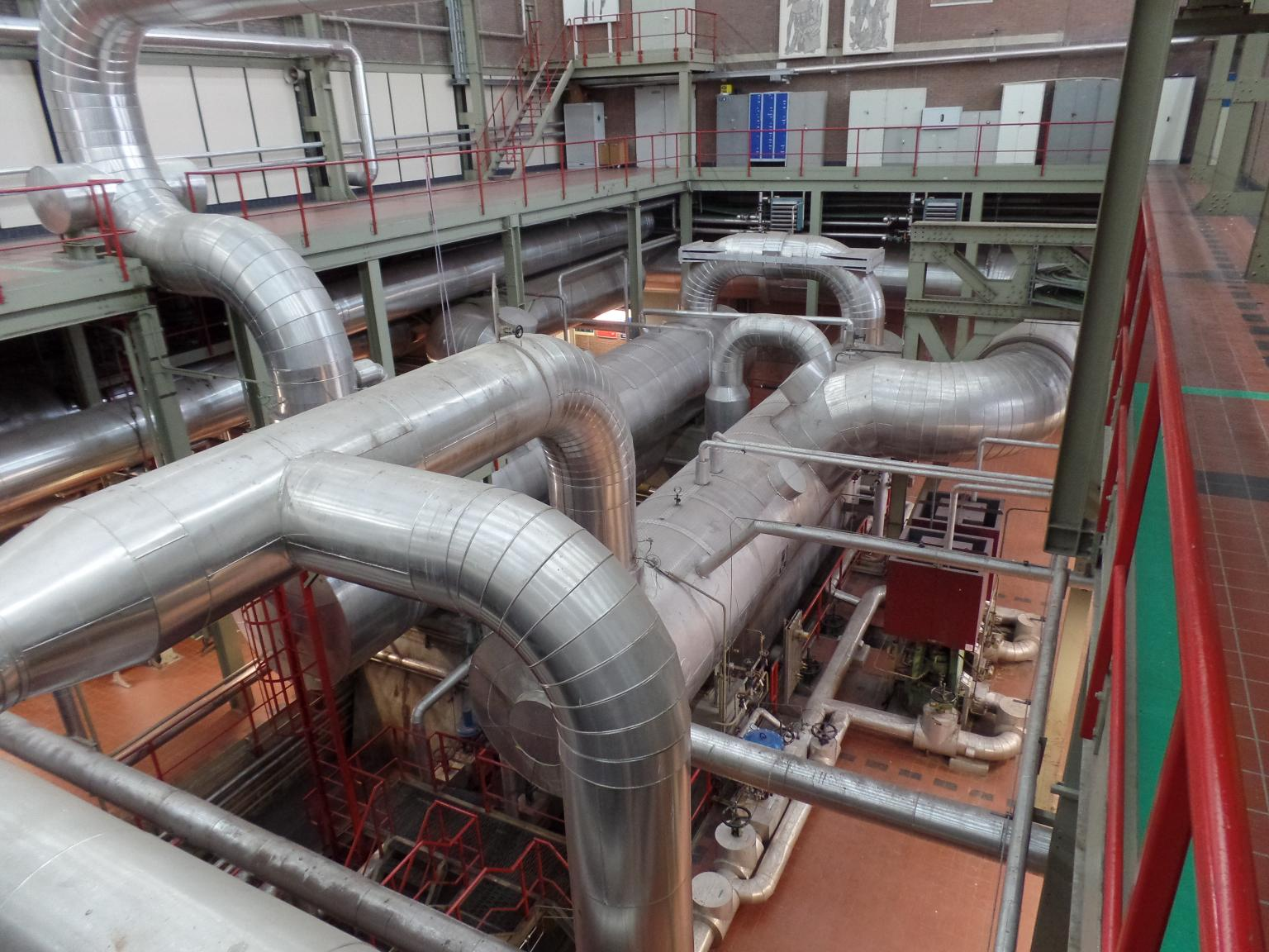 Schematic 1: Difficult maintenance conditions in the heating plant