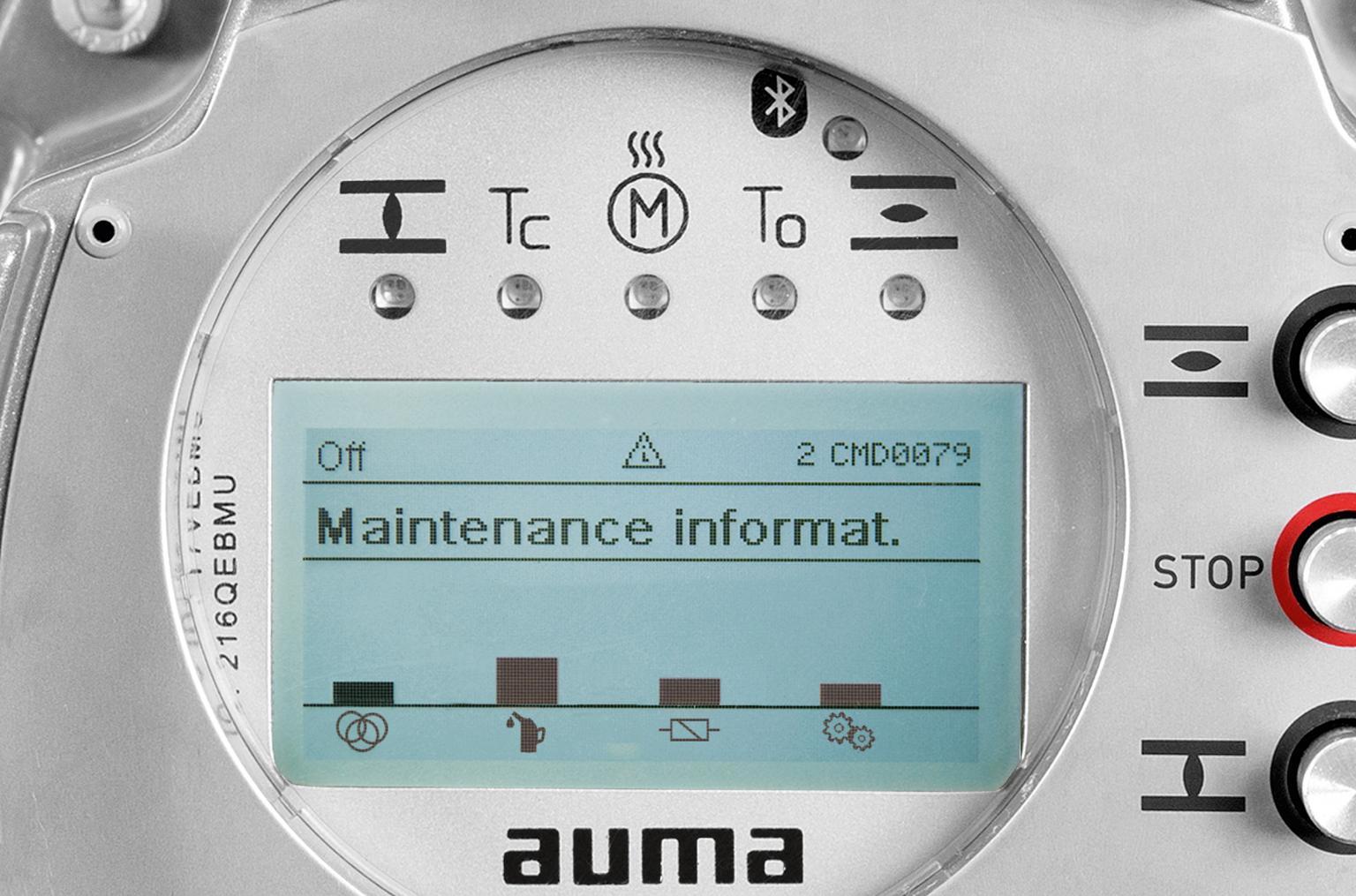 AUMA actuators address key current requirements for asset management and predictive maintenance