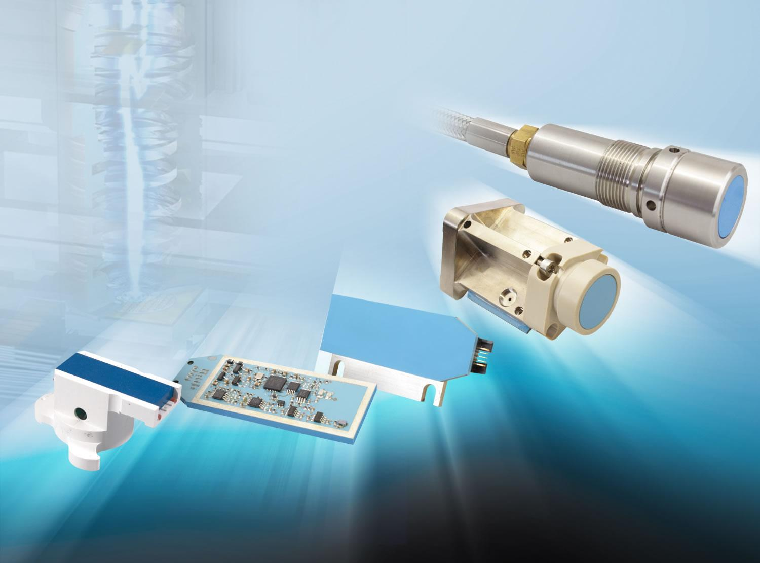 Next-generation eddyECT sensors, the only eddy current sensors in the world to use embedded coil technology