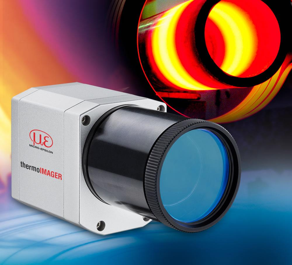 Infrared thermal imaging cameras can perform fast, reliable temperature measurements of moving or rotating objects