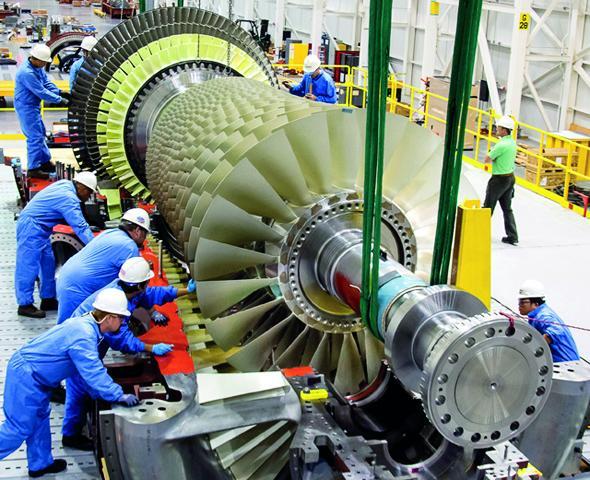 Three sets of M701 DA turbine and generator will be installed in Turkmenistan