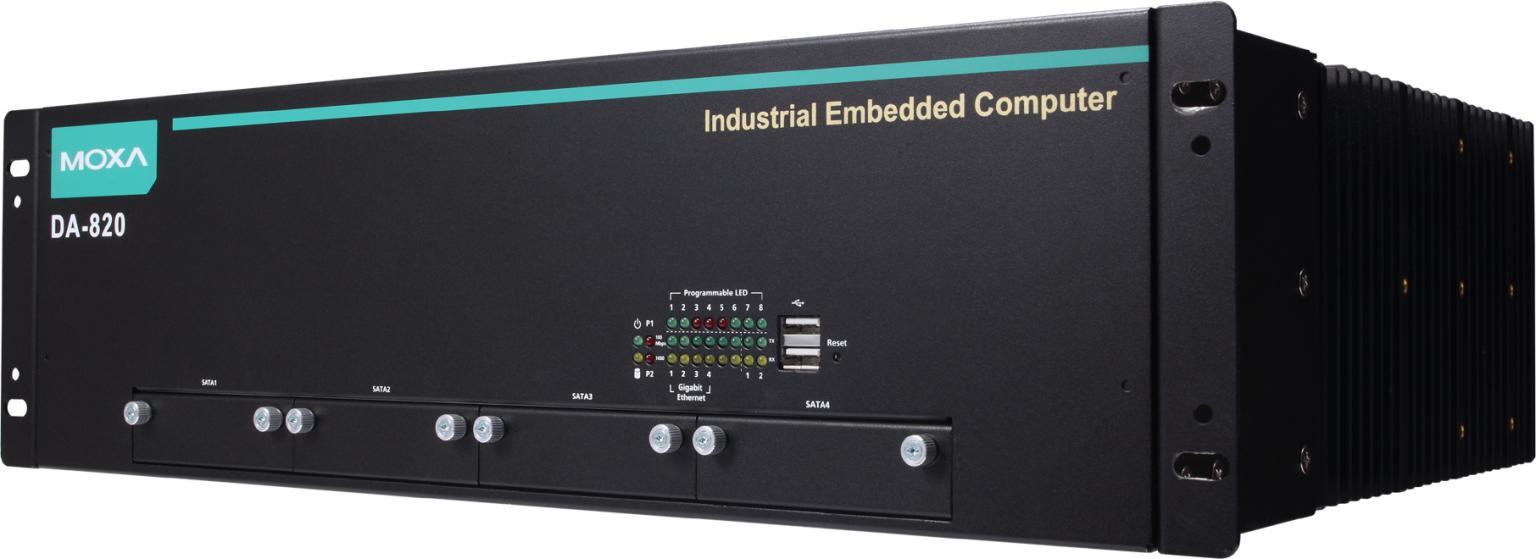 Moxa's DA-820 series is an IEC 61850 native PRP/HSR computer