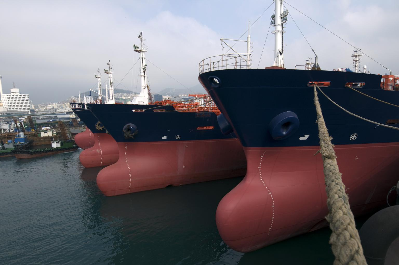 The project involved the refit of several UPS on an oil and gas tanker fleet