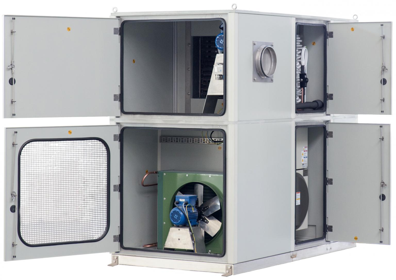 Intertec's new explosion-proof HVAC system is an all-in-one design that handles ventilating, heating, cooling, dehumidifying, air filtering, purging and pressurisation of shelters in hazardous areas