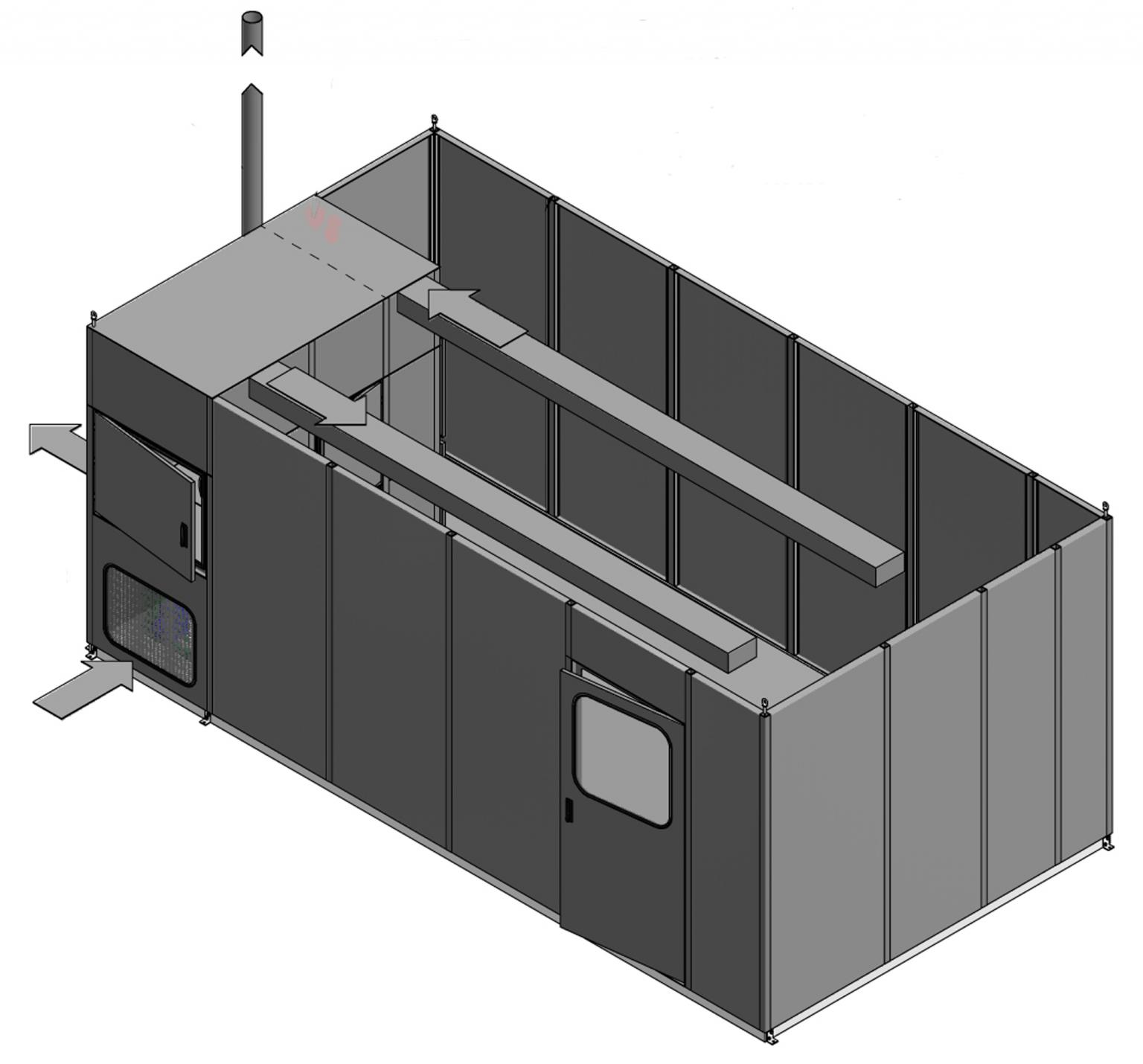 Intertec's new explosion-proof HVAC system can be fully integrated within an analyser shelter to save space, cost and energy, paving the way for a new generation of high performance shelters