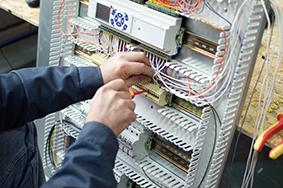 Conducting work on control panels in phases minimises disruption