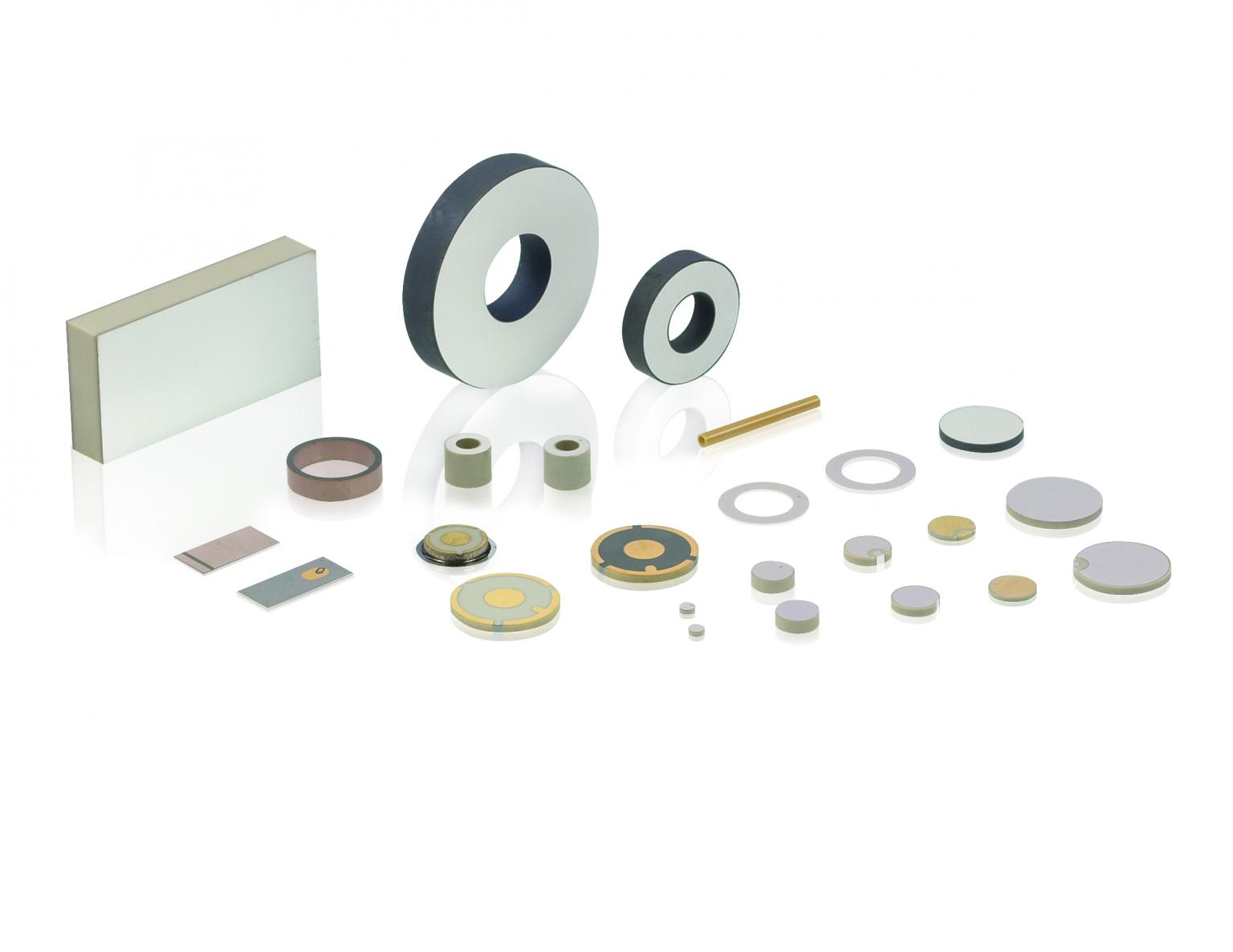 Different variants of piezo elements are possible, which allows them to be adapted to the respective application