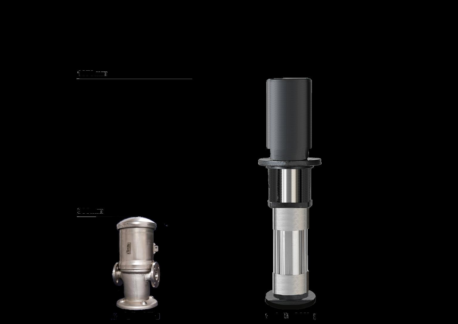 Radiax Pump comparison to conventional pump