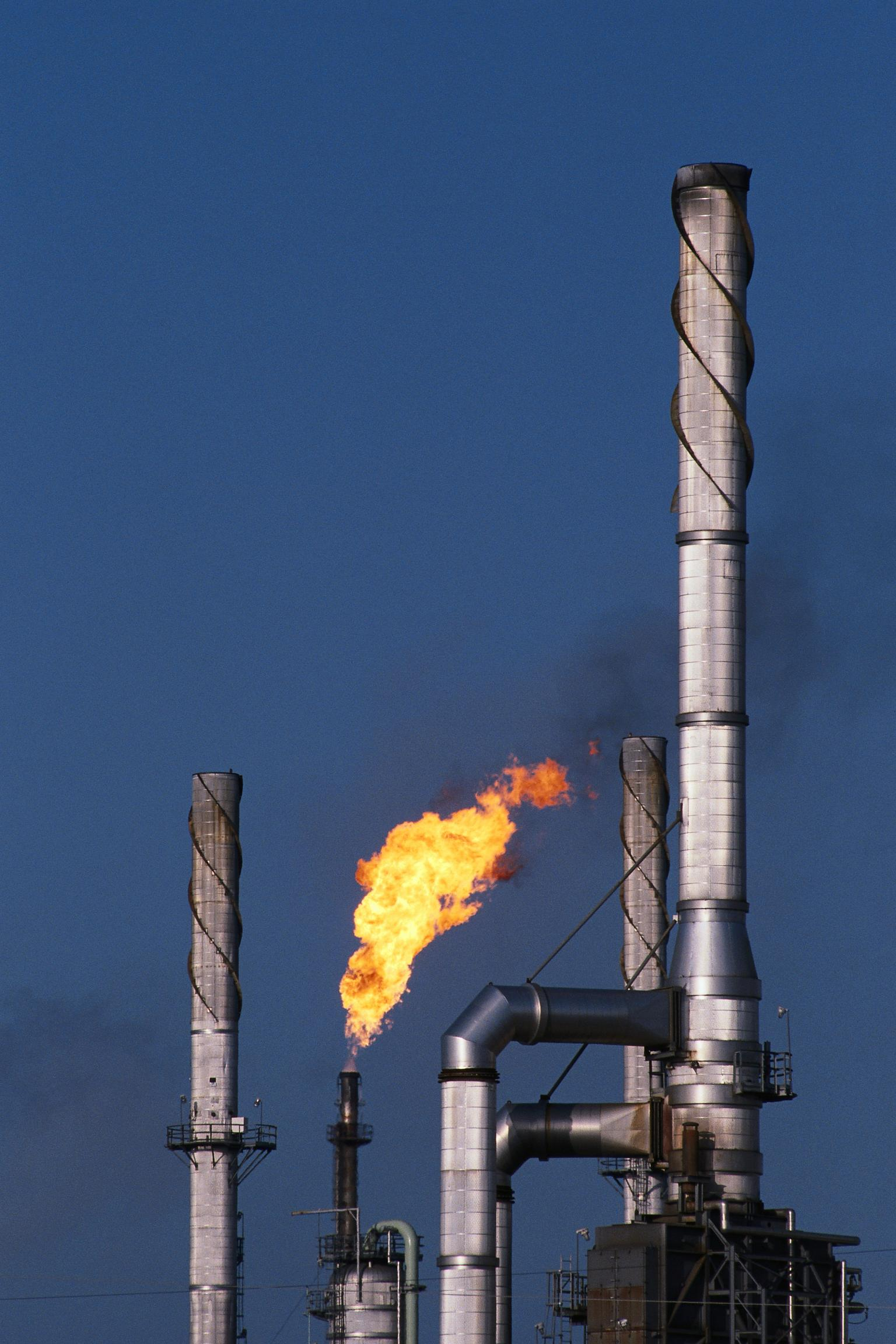 In November 2015, compliance with the regulations for refinery flares will become mandatory
