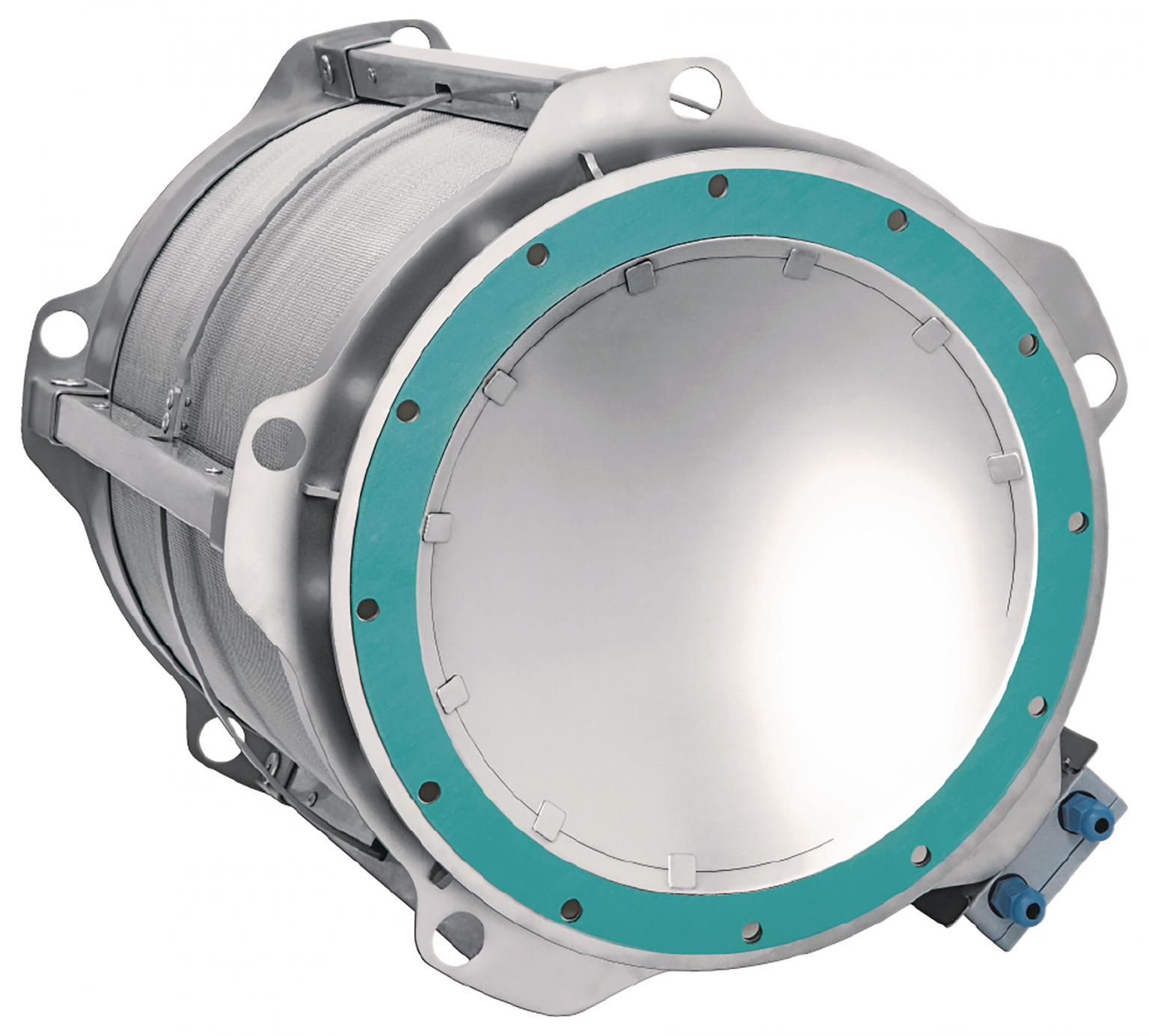 The Q-Rohr has been certified for use with metal dusts