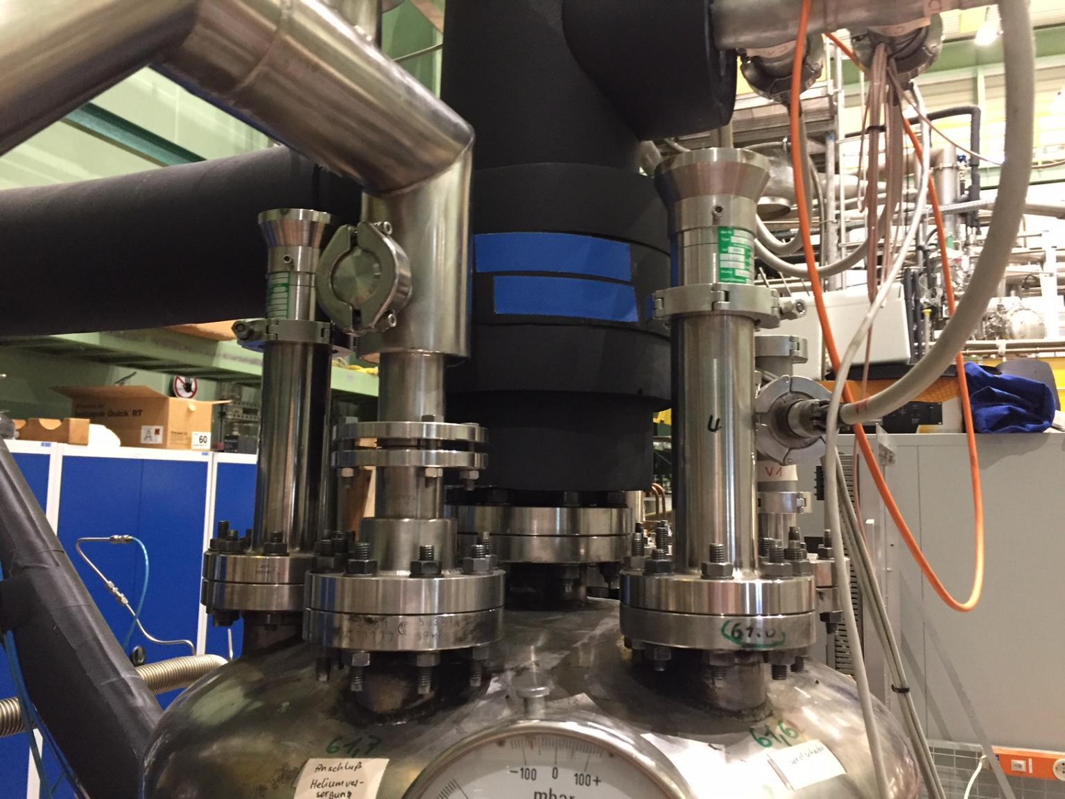 The KIT's cryostat