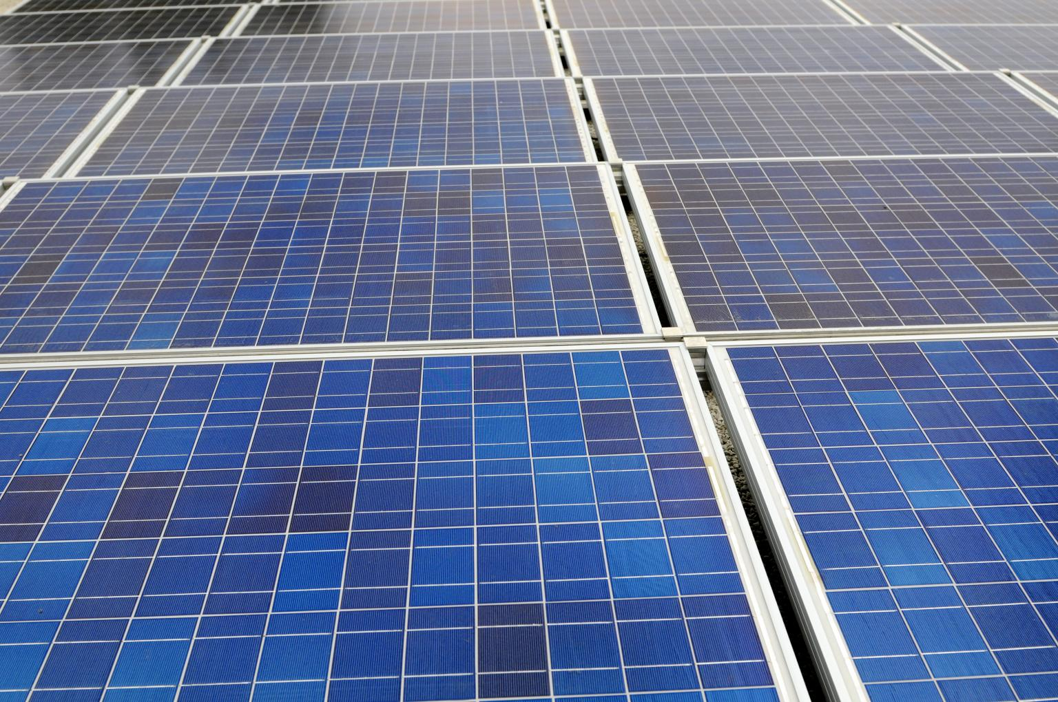 Roof-based photovoltaic systems are increasingly being used by companies to improve energy efficiency. Image courtesy of DuPont