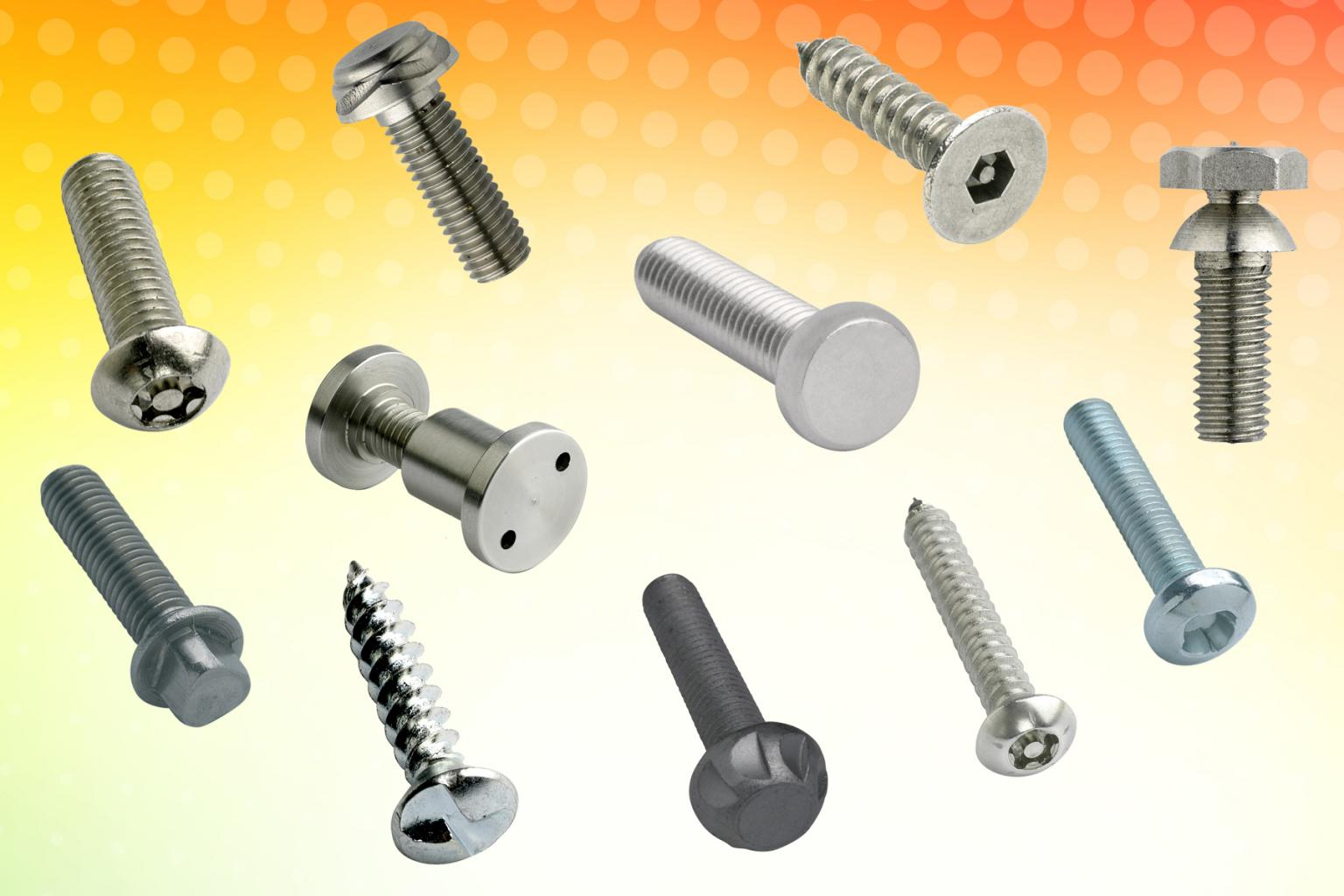Various security fasteners