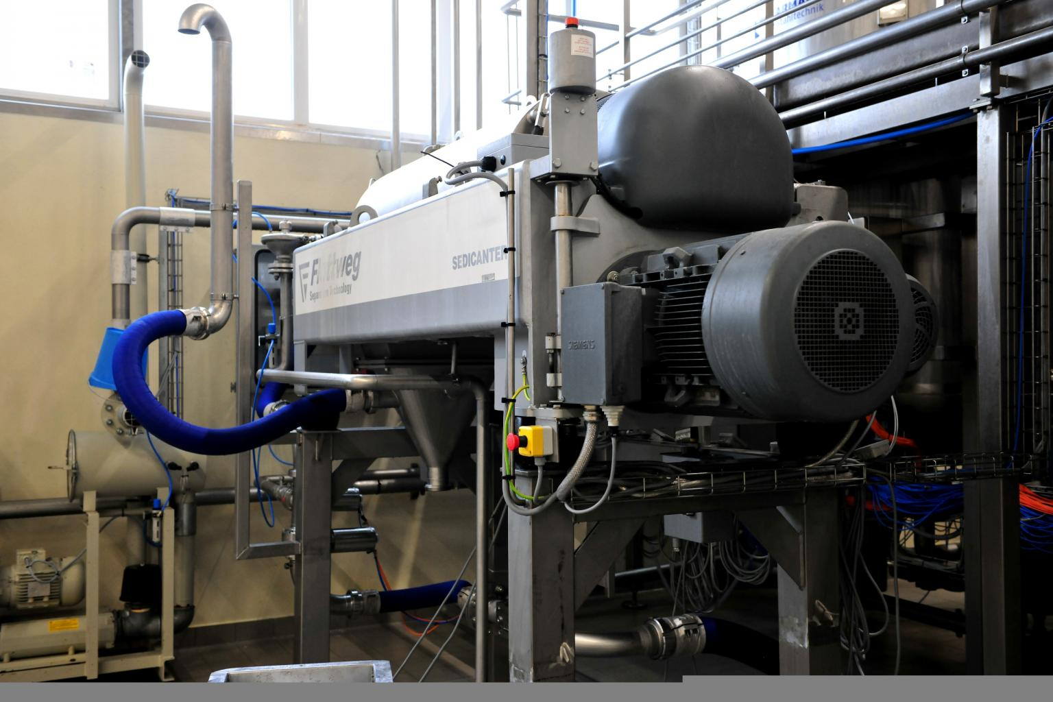 Flottweg's Sedicanter enables the processing of lupins at an industrial level