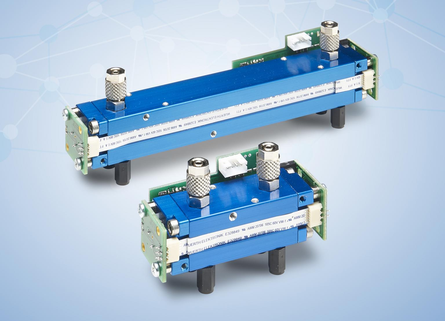 The EVO series PREMIUM and FLOW complement the NDIR gas sensors for the measurement of CO2 in the Vol-%-range