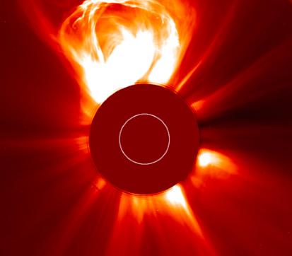 Image: ESA/NASA/SOHO