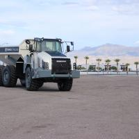 Mining truck gets fuel economy and speed boost