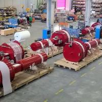 Large orders for actuators expert