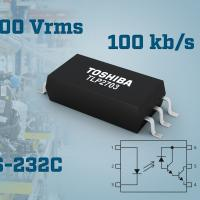 Photocoupler for RS-232C 100kbps communication applications